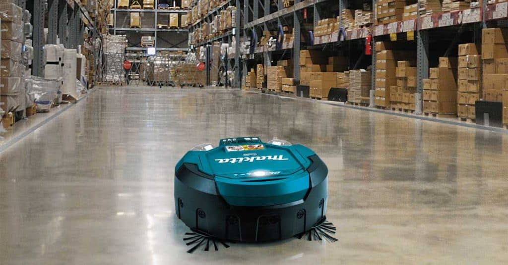 robot aspirador industrial