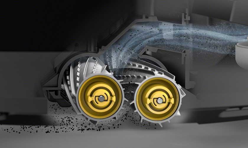cepillos doble romba 965 robot aspirador