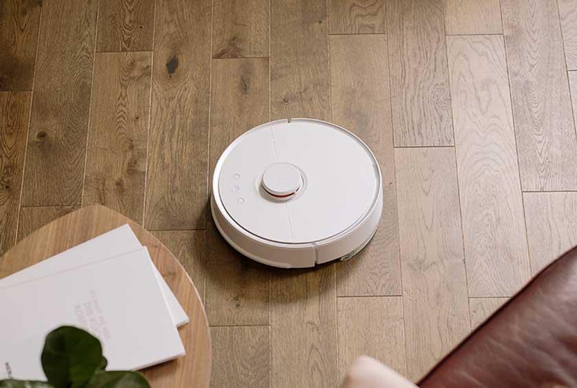como funciona un robot aspirador