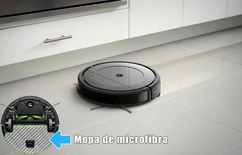 robot roomba combo análisis friegasuelos